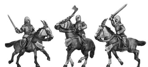 (100MMH030) Kamarg cavalry with hand weapon