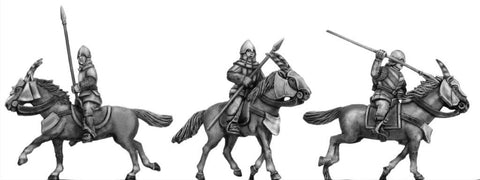 (100MMH032) Kamarg cavalry with javelin