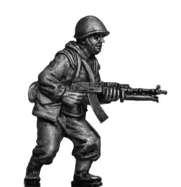 (100MOD254) Mechanized Infantry in helmet with RPD LMG