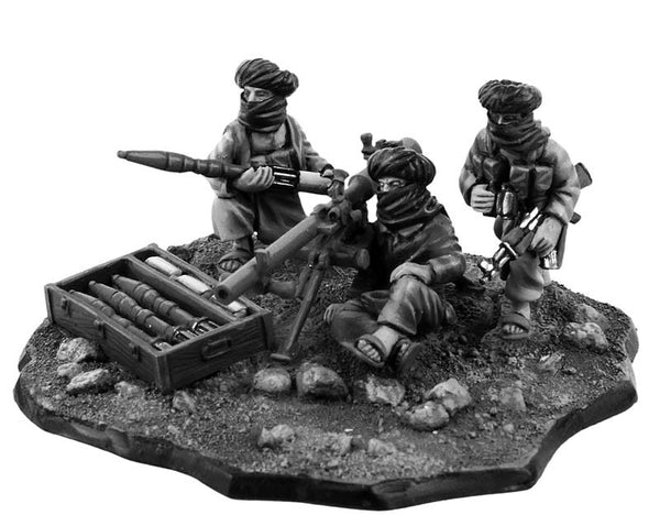 (100MOD075) 28mm Afghan recoilless rifle team