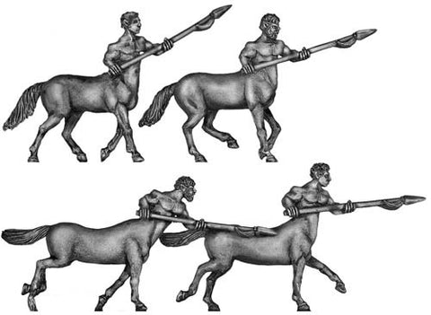 (100MYT02) Centaur with spear