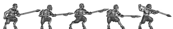 (100MYT10) Satyr with spear