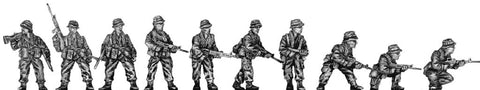 (100NAM02) Rifle section (passive poses)