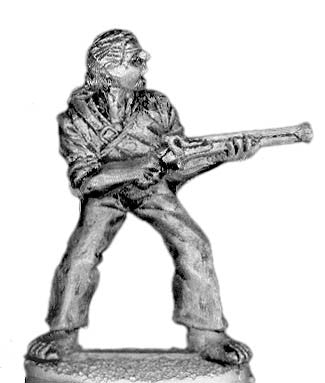 (100PIR04) Pirate with hand musket