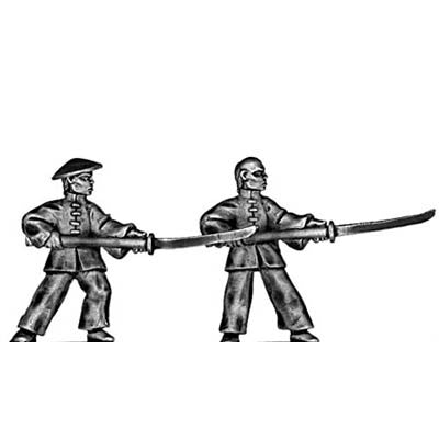 (100PIR32) Chinese pirate with pole arm