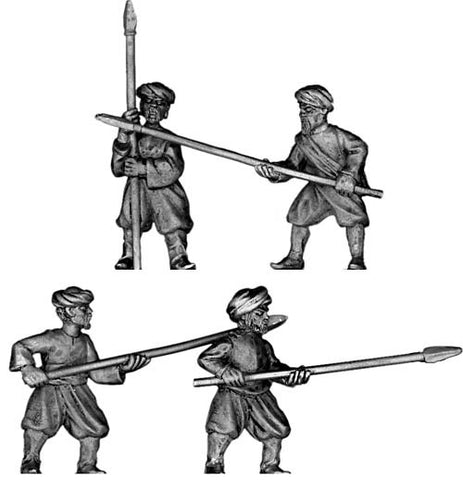 (100PIR42) Turkish pirate with pole arms