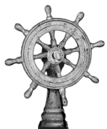 (100PIR55) Ship's wheel