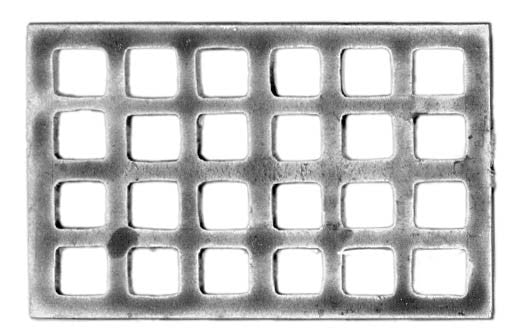 (100PIR65) Ship's grating