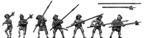 (100POR06) Pike/pole arm infantry