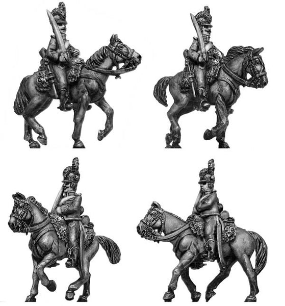 (100WFR150) Chasseur a Cheval, at rest, helmet