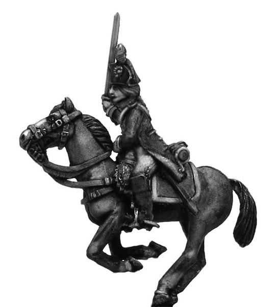 (100WFR182) Cavalrie Officer, charging