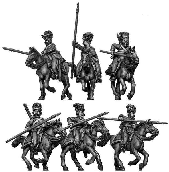 (100WFR370) Don Cossacks, mounted