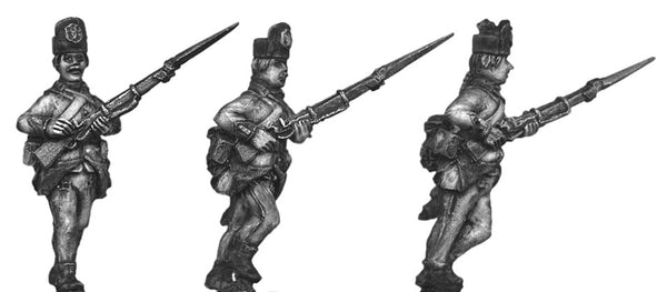 (100WFR521) Hungarian Fusilier, kasket, advancing