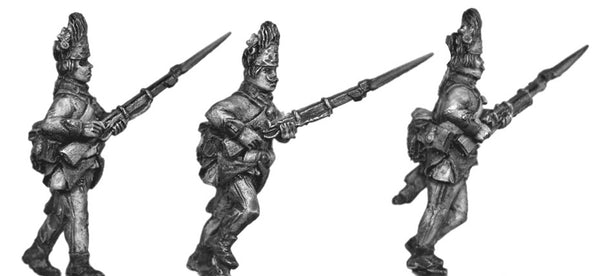 (100WFR530) Hungarian Grenadier, bearskin, advancing