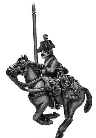 (100WFR635) Austrian Dragoon Std. bearer, charging