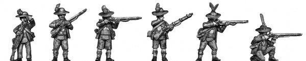 (100WFR701a) Tyrolean with firearm