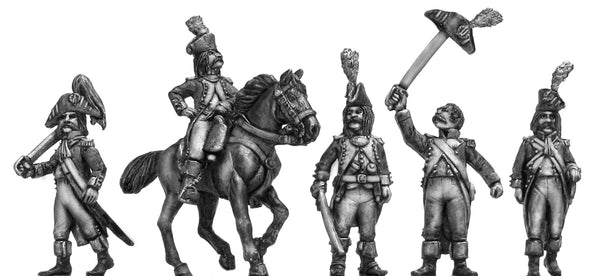 (100WFR099) French Officer Character Set