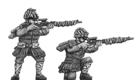 (100WWT107) Japanese Snipers 2 figure set