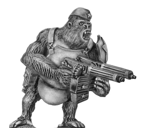 (100PLP201) Soviet Gorilla with twin HMGs, side cap & body armour