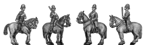 (100RBM001) Victorian Mounted Police- at rest 4 variants
