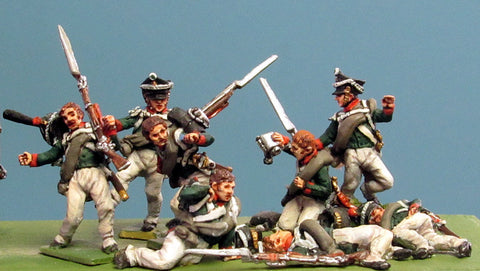 (AB-R14) Casualty set | 1812 shako (10 figures)
