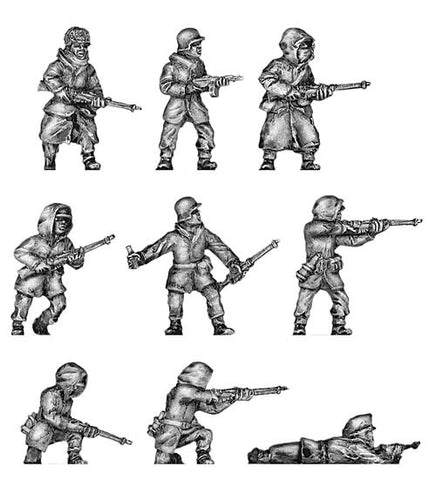 (200WWT02) Winter War Finns-Rifle Squad