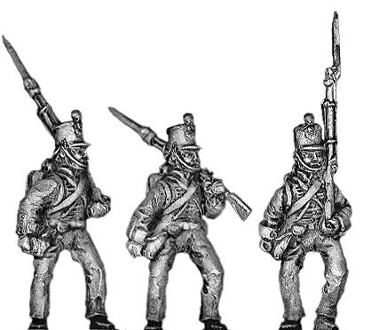 (300CMW029) British Line Infantry marching