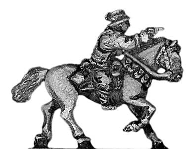 (300HBC03) Australian Light Horse officer | mounted
