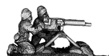 (300HBC24) Turkish heavy MG team