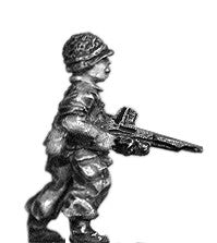 (300ICW03a) Legionnaire in helmet with FM24/29 LMG