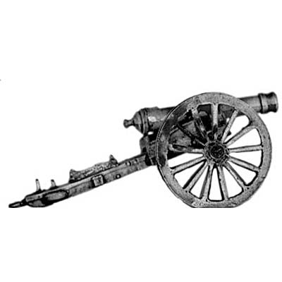 (300MAW09) US M1841 6lb cannon