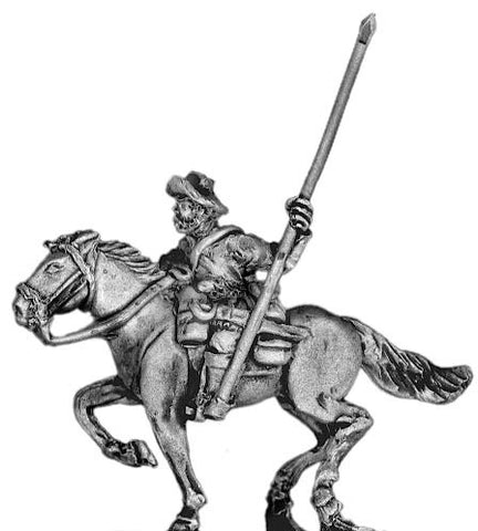 (300MAW24) Texas Ranger Standard Bearer, mounted