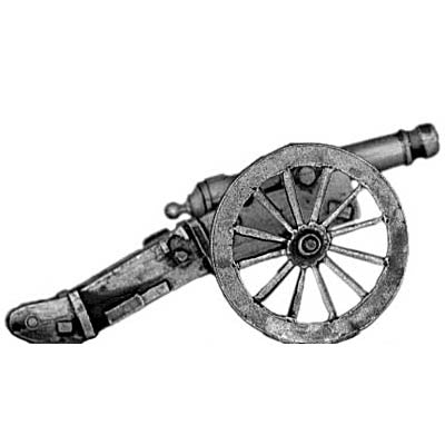 (300MAW37) Mexican Napoleonic 8lb cannon