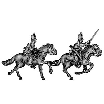 (300MAW39) Mexican line cavalry | with sword