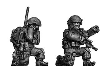 (300MOD055) Australians Command Team, kneeling