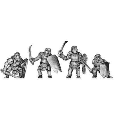 (300MRC03) Man-Orc light infantry with sword