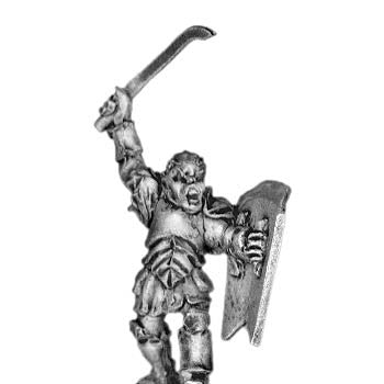 (300MRC10) Armoured Man-Orc chief