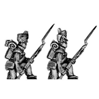 (300NBR10) Flank company | kneeling to receive cavalry