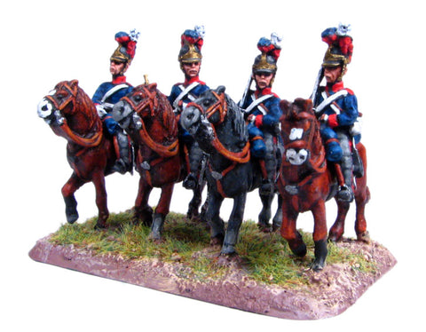 (300NBR42) Household Cavalry in helmet, at rest
