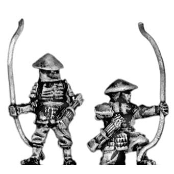(300SAM11) Late Ashigaru/ Follower with bow