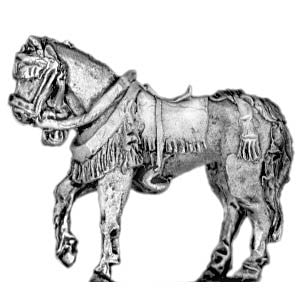 (300SAM19) Standing horse for horse holder