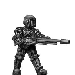 (300SCI11) Venturan Trooper with Section Automatic Weapon