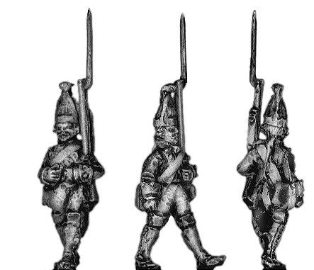 (300SYW103) Prussian Grenadier marching