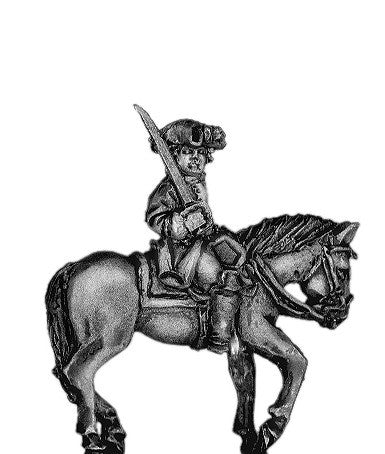 (300SYW110) Prussian mounted infantry officer