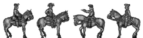 (300SYW242) Austrian Mounted General Staff-4 figure set