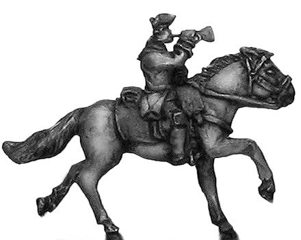 (300SYW327) Russian Cuirassier trumpeter