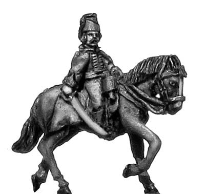 (300SYW416) Hussar  officer in mirliton