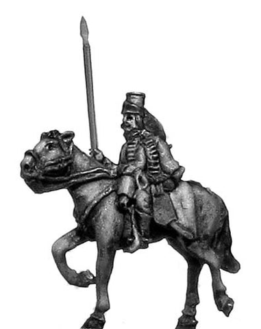 (300SYW417) Hussar standard bearer in mirliton
