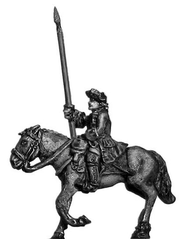(300SYW433) Dragoons standard bearer in tricorn