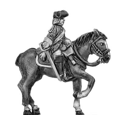 (300SYW551) Dragoon in tricorn, officer